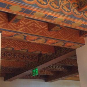 The Biltmore Santa Barbara, Four Seasons Resort - Ceiling for hallways.