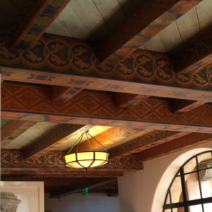 The Biltmore Santa Barbara, Four Seasons Resort - Ceiling for hallways.